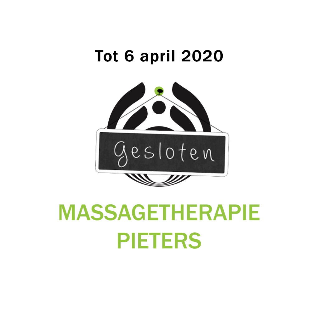 Tot 6 april 2020 gesloten
